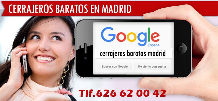 Los cerrajeros 24 horas Madrid mas baratos