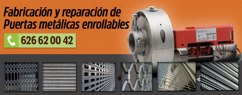 Puertas metálicas enrollables Alcorcón