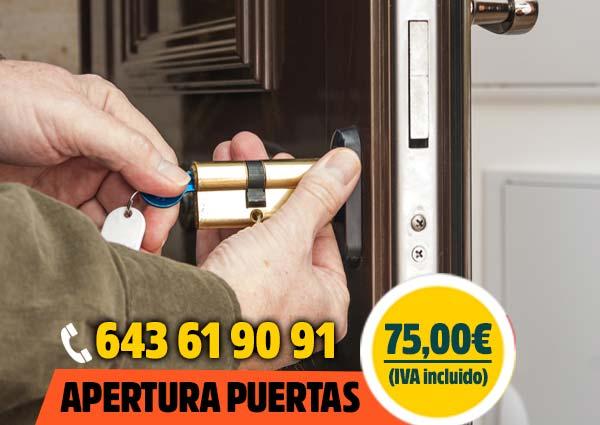 Apertura de puertas Madrid