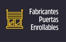 Fabricantes de puertas enrollables Madrid